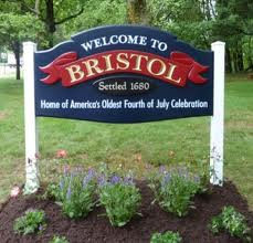 welcome to bristol sign