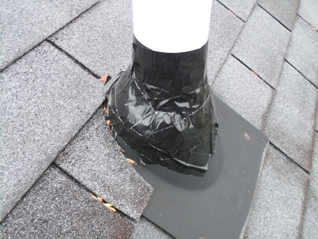 Taped Roof Boot