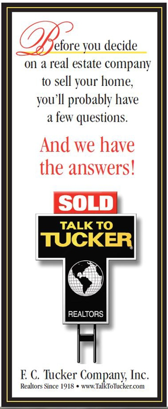 Tak To Tucker For all your Northwest Indiana Real Estate Needs