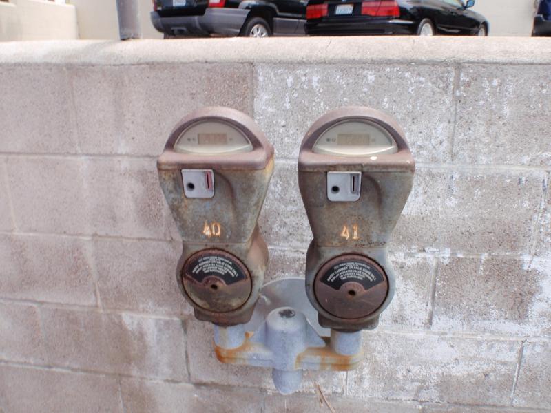 Parking Meter in Manhattan Beach Endre Barath