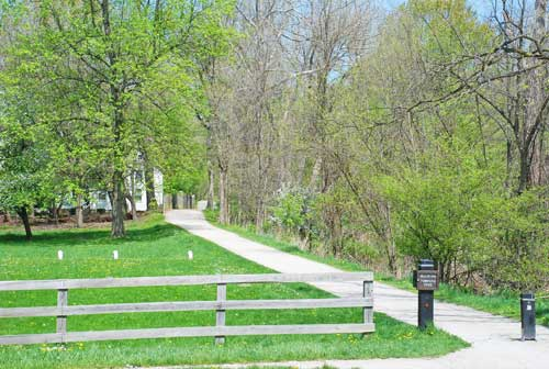 Ohio and Erie Canal Towpath Trail At Boston Mills Road