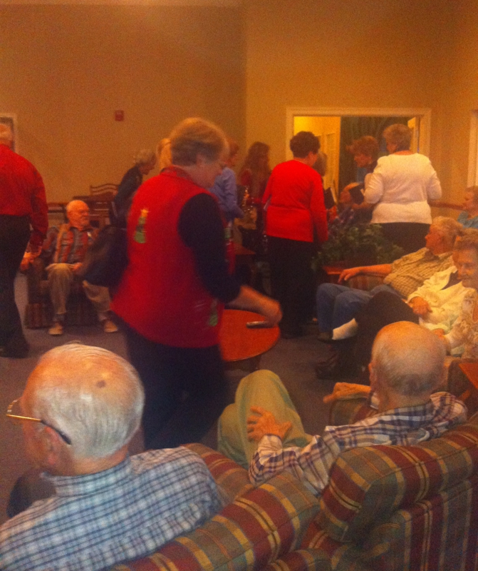 Residents at the Guardians with Liberty Belles