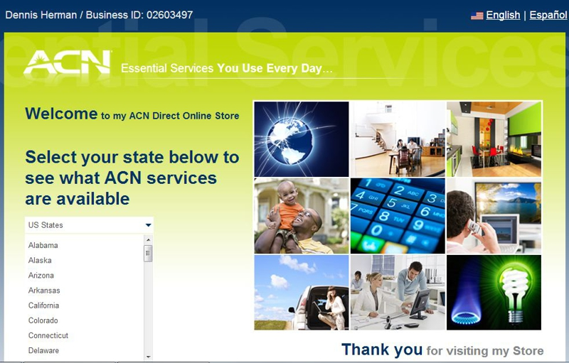 ACN Compare Cell and phone plans and Internet providers
