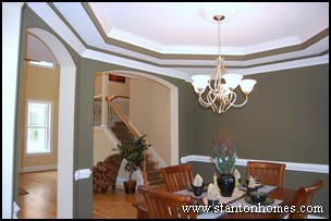 Types of Trey Ceilings | Trey Ceiling Ideas | NC Custom HomeBuilders