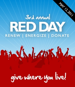 Image of Keller Williams' RED Day poster for 2011