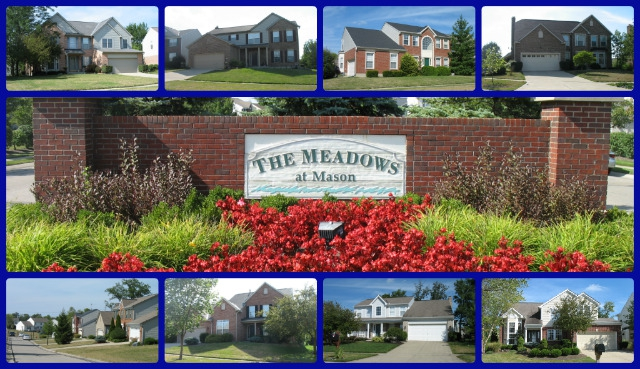 The Meadows at Mason community of Mason Ohio 45040