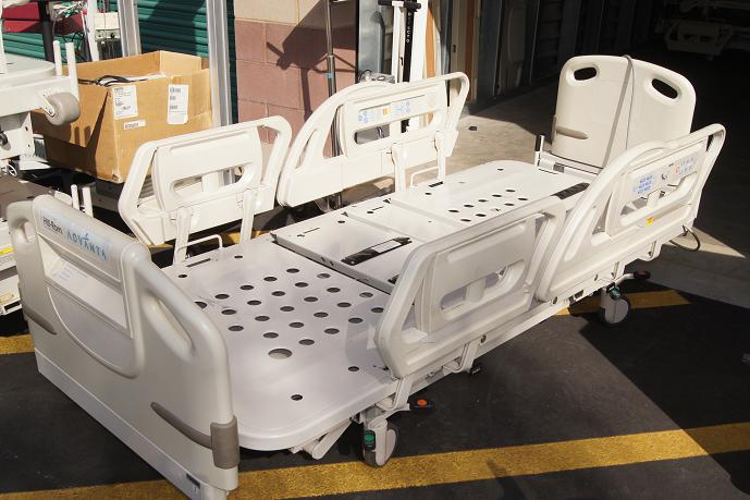 used hill rom and stryker hospital beds for sale. Black Bedroom Furniture Sets. Home Design Ideas