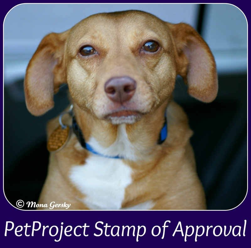 PetProject Stamp of Approval
