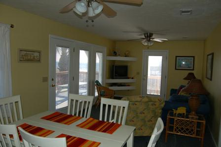 Living-Dining -Kitchen - Duplex at Mexico Beach