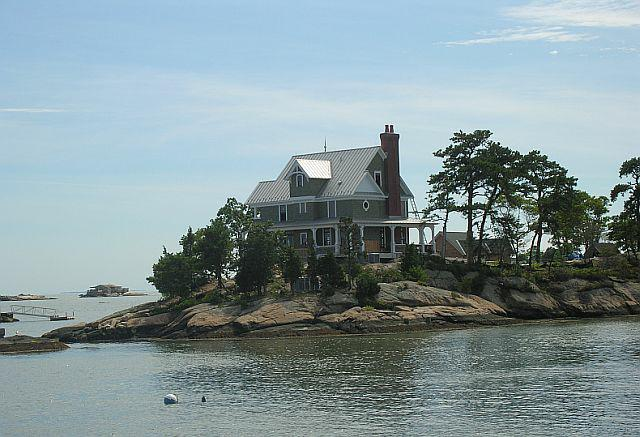 Homes On Thimble Islands