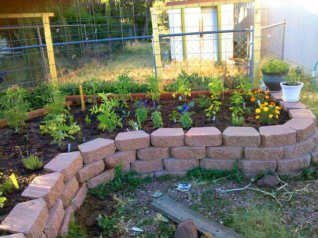 My New Raised Garden Bed In The Front Yard