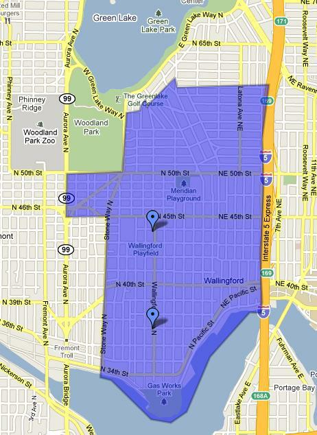 Wallingford Seattle Neighborhood Guide - Seattle map neighborhood guide