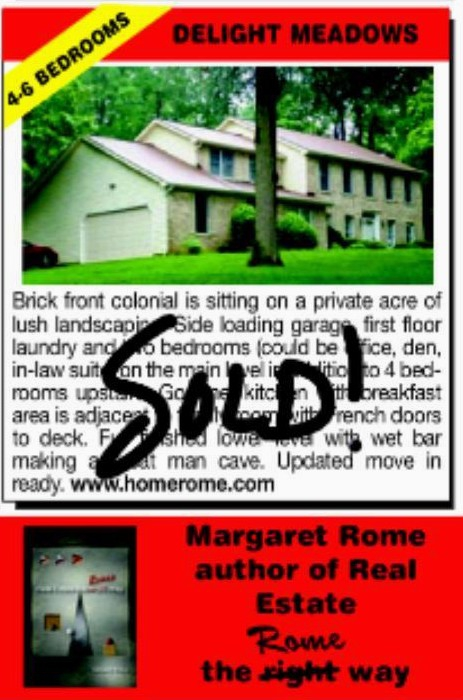 Delight Meadows Sold By Margaret Rome