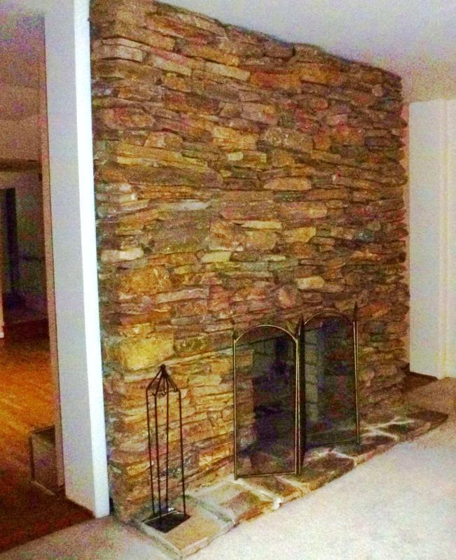 Stone fireplace 12325 Falls Rd. 410-530-2400