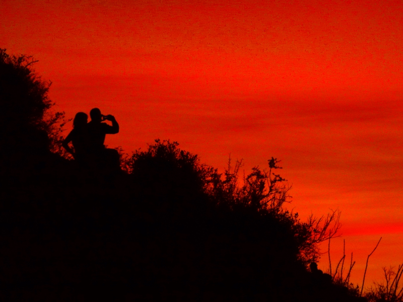 Capturing the sunset: Mike in Tucson, AZ mortgage lender