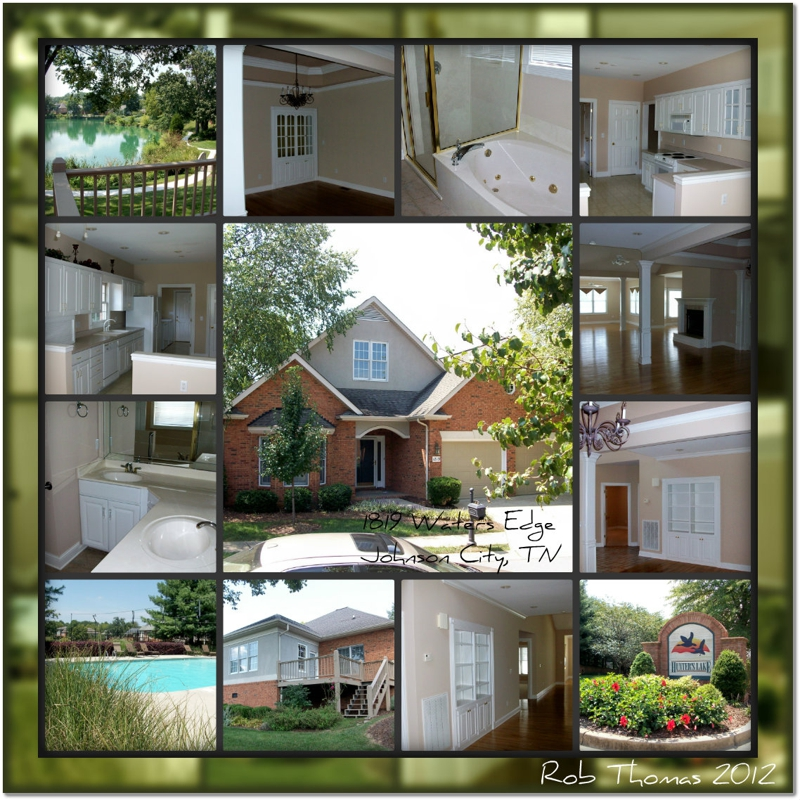 one level waterfront homes for sale in johnson city tn