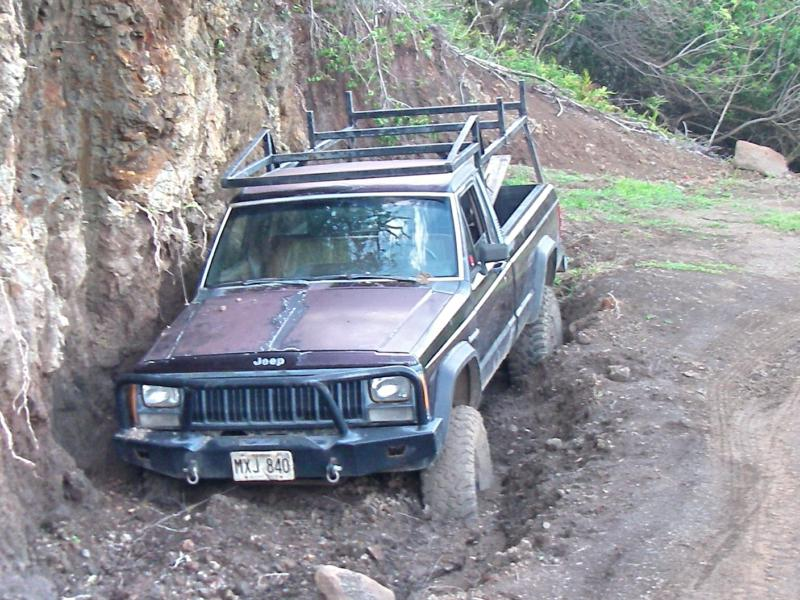 stuck in the Maui mud