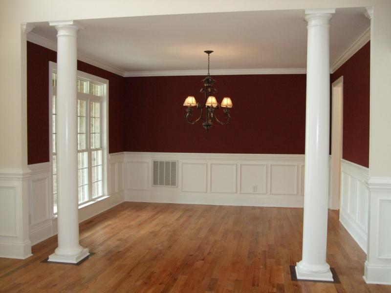 Dining room with chair rail paint ideas memes for Dining room paint ideas