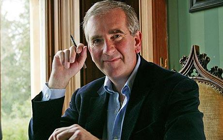 Robert Harris writer of the Fear Index