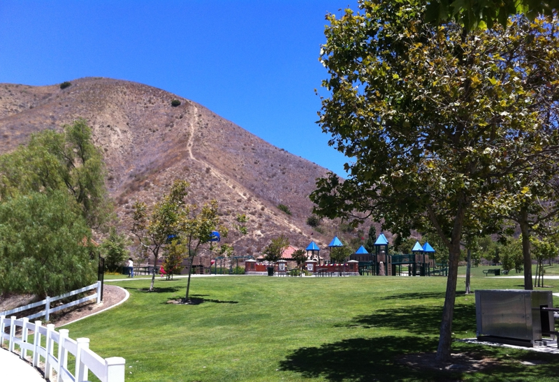 Box Canyon Park in the Bryan Ranch area of Yorba Linda CA