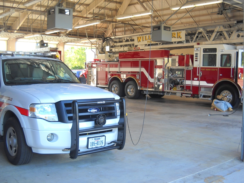 Inside Willowfork Fire Station