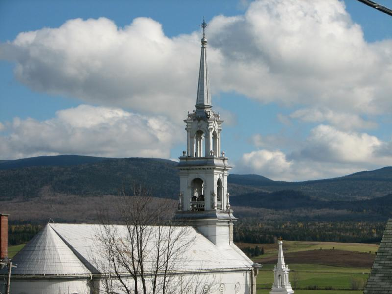 maine country church