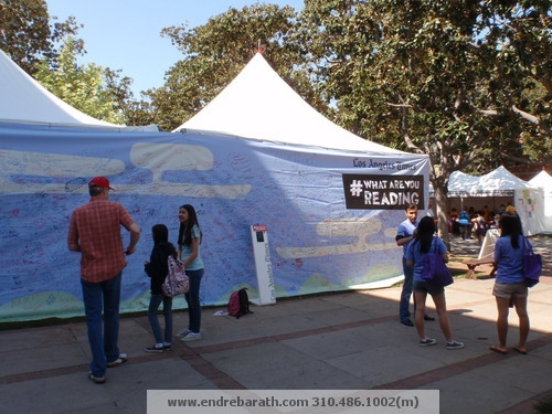 Los Angeles Times Festival of Books 2013 Endre Barath