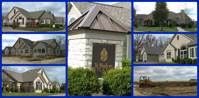 The Woods on Wilkens condo community of Mason Ohio 45040