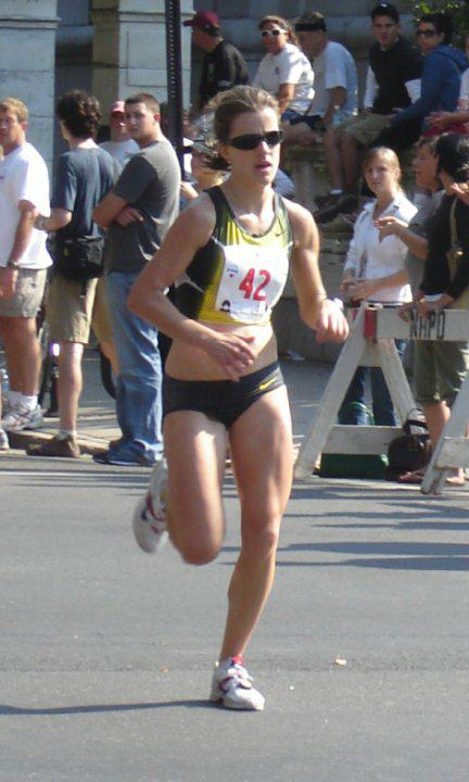 Kate O'Neill - 3rd Place Woman in New Haven 20k - 2007