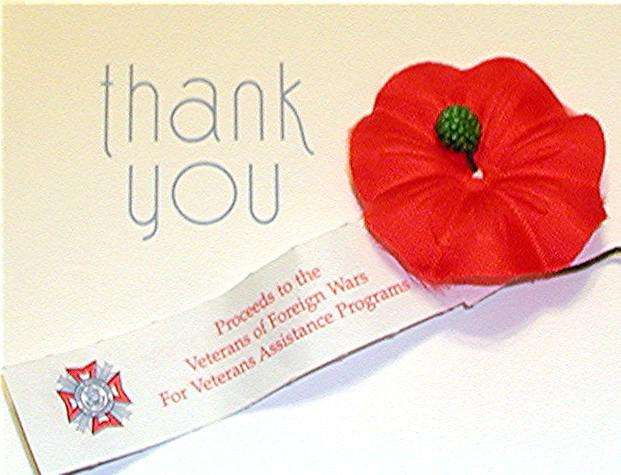 Support Veterans in Your Community--Buy a Poppy this Memorial Day!