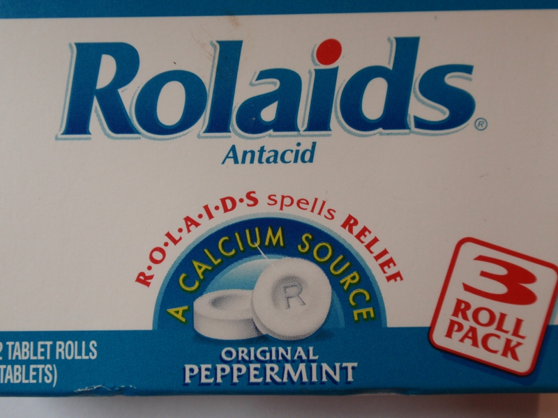 Rolaids 3 Roll Box