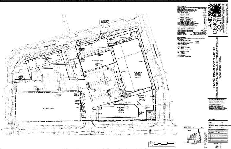 Grocery Store Site Plan