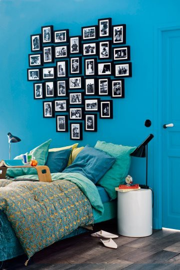 Black And White And Blue Bedroom Bedroom Design Ideas