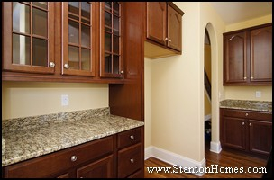 Custom Home Design Trends | Butlers Pantry | Kitchen Design Ideas 2011