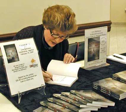 Margaret Signing