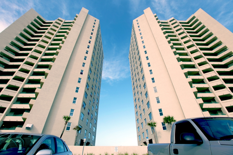 DiMucci Twin Towers in Daytona Beach Shores