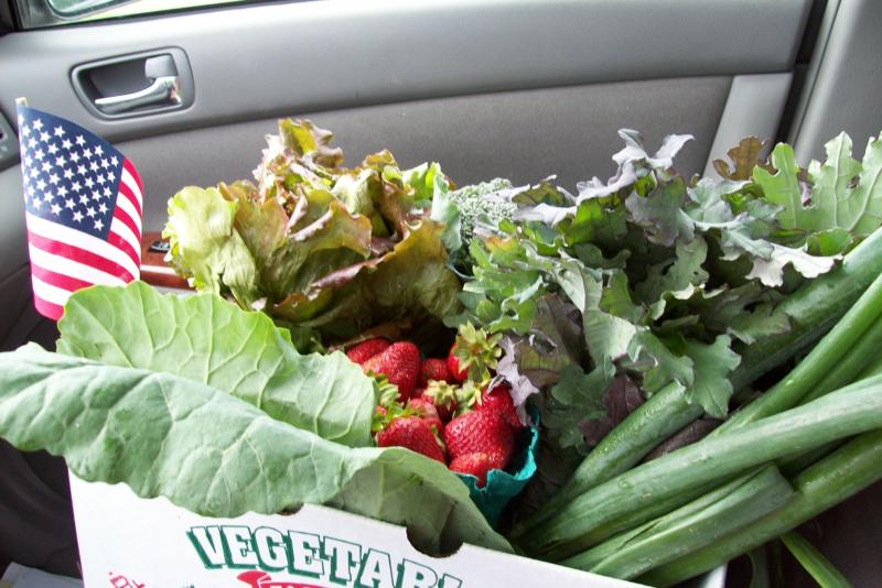 Organic Produce in Franklin TN