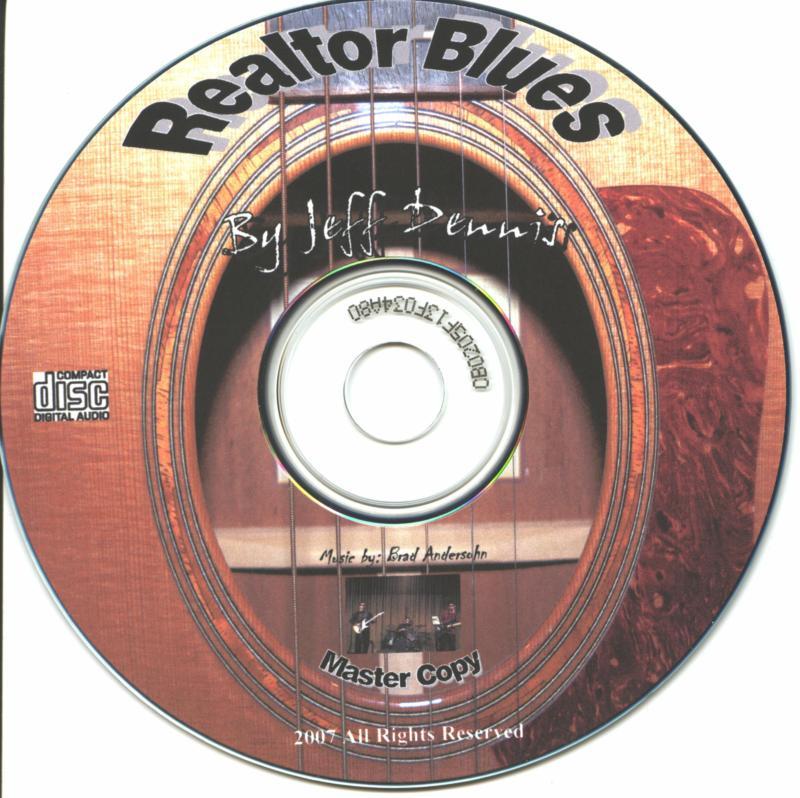 Realtor Blues CD Label