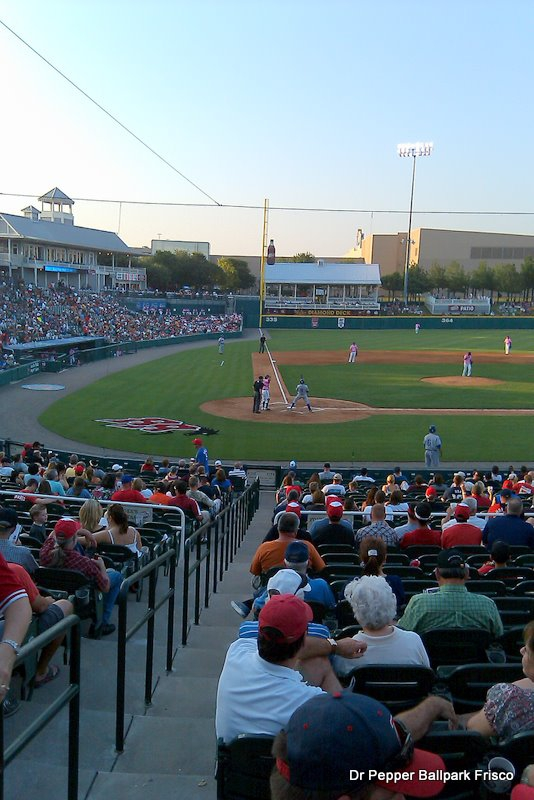 photograph of the Dr Pepper Ballpark