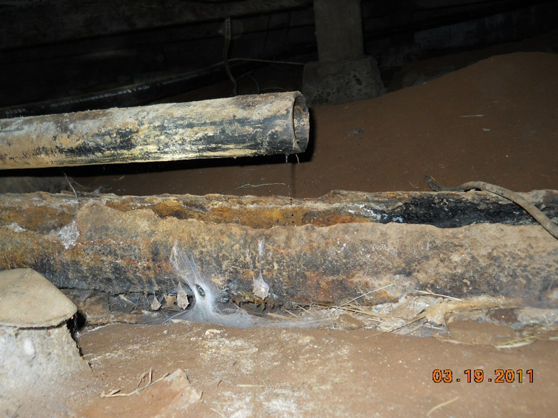 A Crawl Space Is No Place For A Babbling Brook