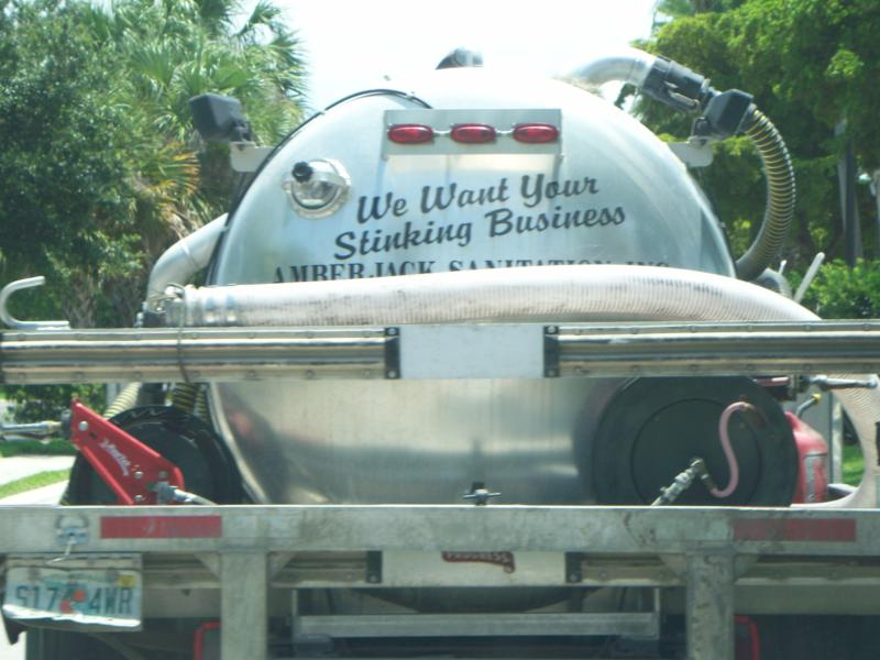 Funny Septic Tank Truck Slogans Page 1 Hotcopper Asx Share