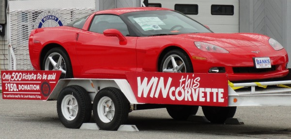 Win A Little Red Corvette And Help Fund An Educational Trust