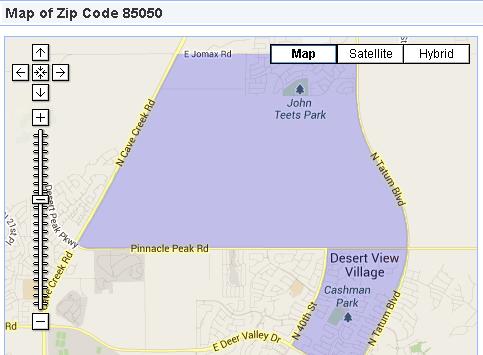 Phoenix Real Estate 85050 Community Profile
