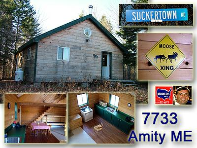 maine land for sale, amity maine vacation property