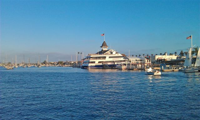 Newport Harbor on Balboa Ferry