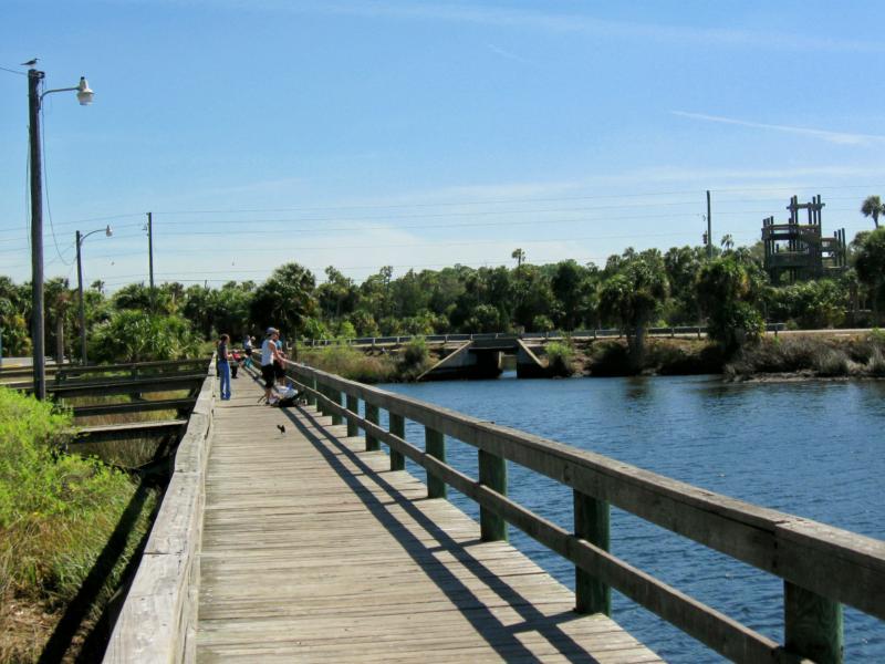 Hernando County Waterfront Parks Fishing At Jenkins Creek