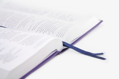 book with a bookmarker