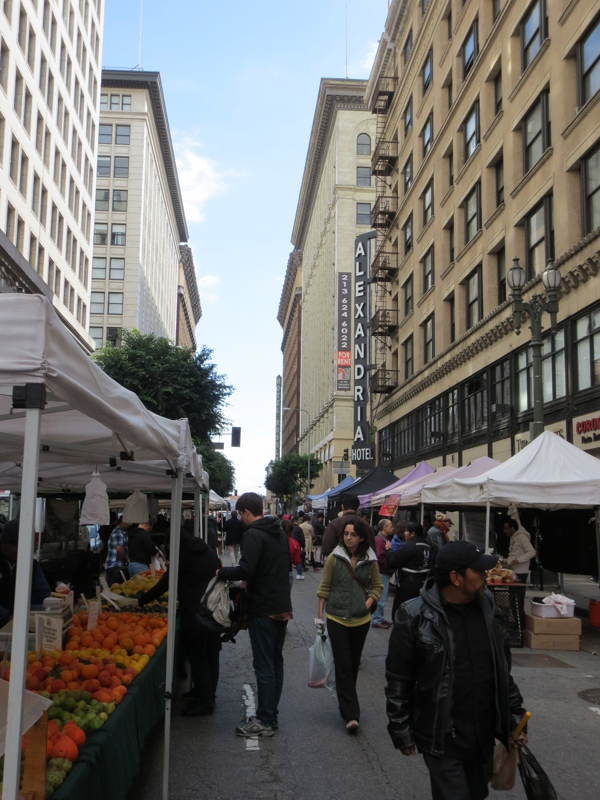 Farmers Market Just Steps Away From The Rowan   Every Sunday In Downtown  Los Angeles