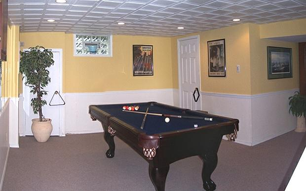 recreation room arnold maryland home