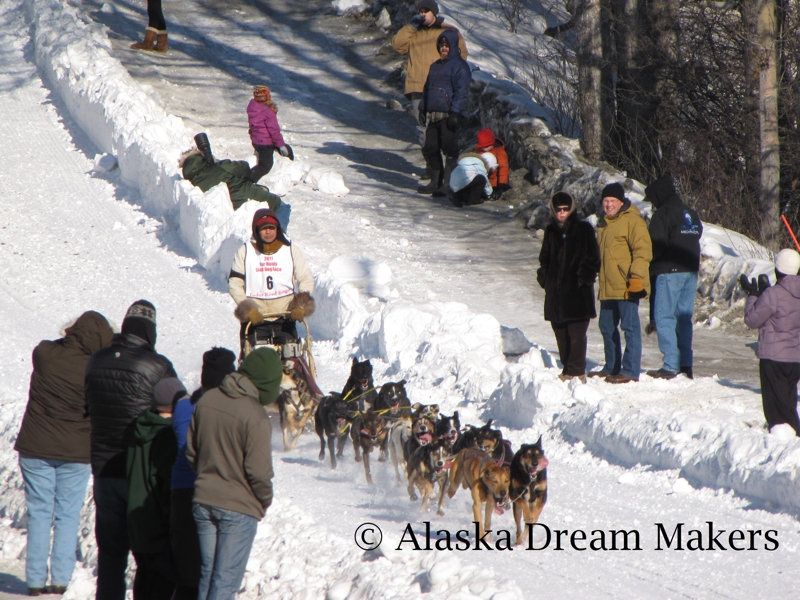 Fur Rondy 2011 Sled Dog Races
